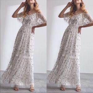 🆕NWT RARE BHLDN x Adrianna Papell Beaded Dress